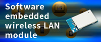 Software embedded wireless LAN module