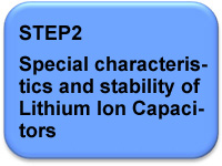 STEP2 Special characteristics and stability of Lithium-ion Capacitors